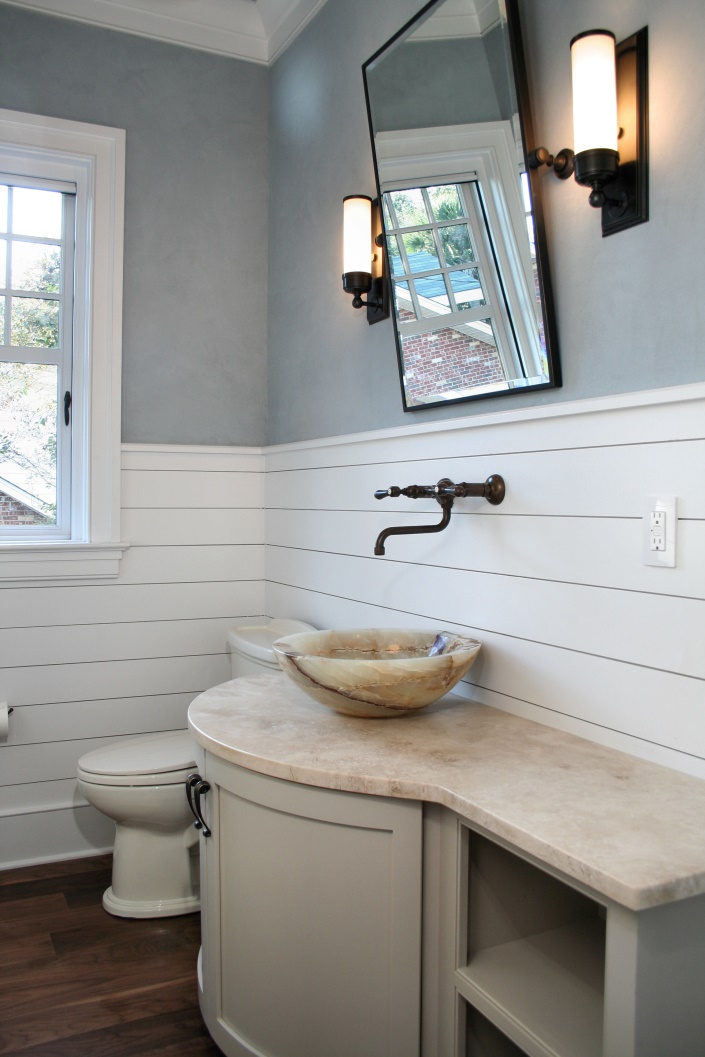 Bathroom Renovations in Charleston: Waterway South Carolina Bathroom Remodel Sea Island Builders