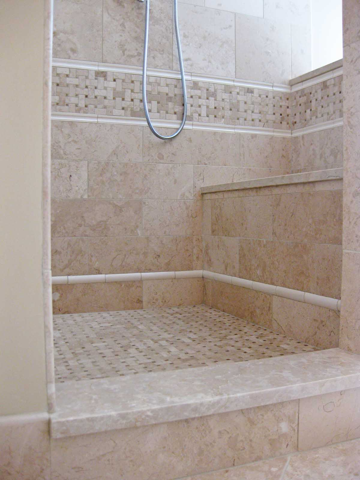 Sea Island Builders bathroom tile