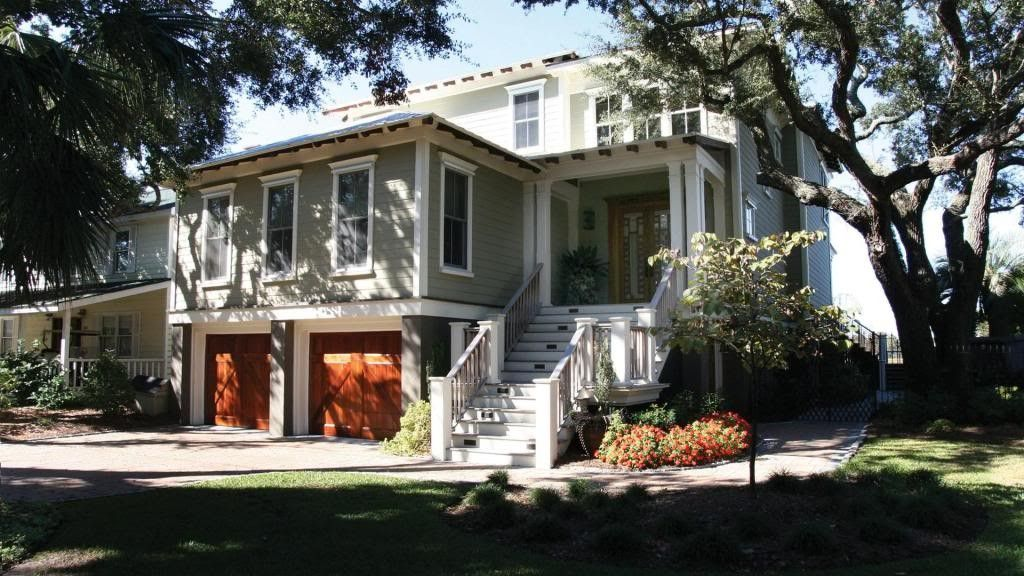 Custom Home on IOP