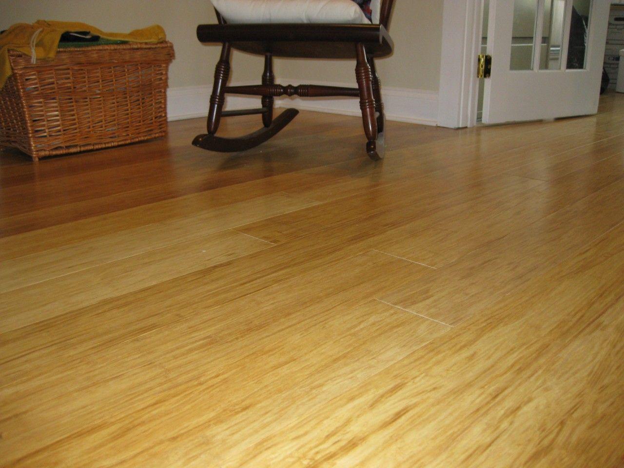 Bamboo Floor Remodel